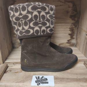 Coach winter shoes